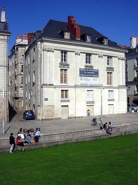 Photo du Monument Historique Chapelle Notre-Dame-de-Bonsecours situé à Nantes