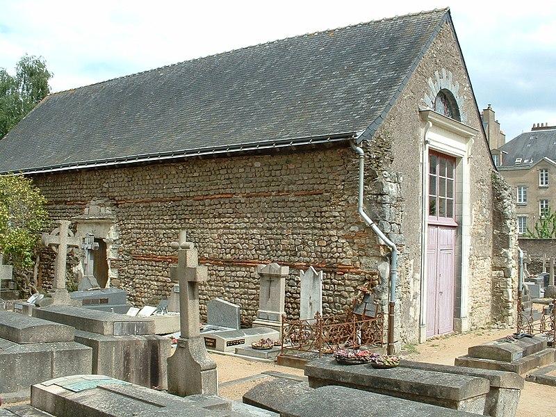Photo du Monument Historique Chapelle Saint-Etienne situé à Nantes