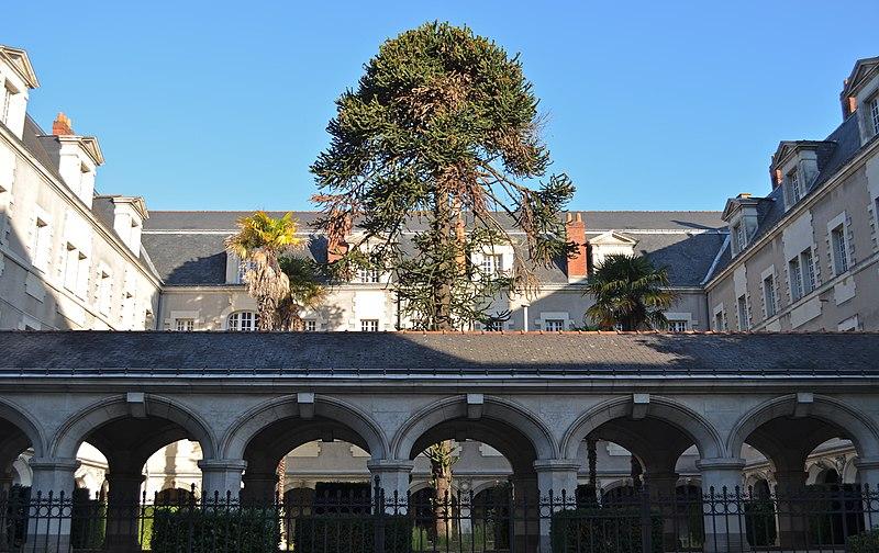 Photo du Monument Historique Couvent de la Visitation situé à Nantes