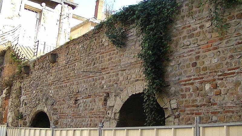 Photo du Monument Historique Enceinte gallo-romaine (vestiges) situé à Nantes