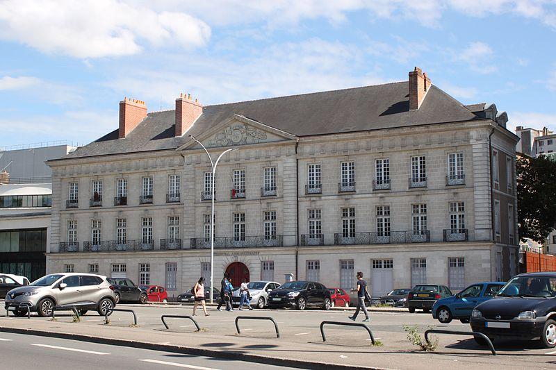 Photo du Monument Historique Hôtel Deurbroucq situé à Nantes