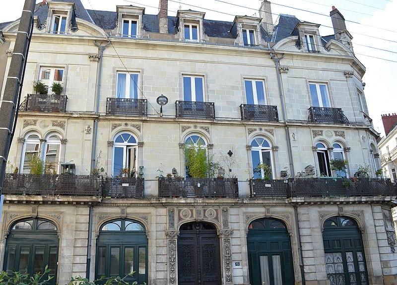 Photo du Monument Historique Hôtel Garreau situé à Nantes