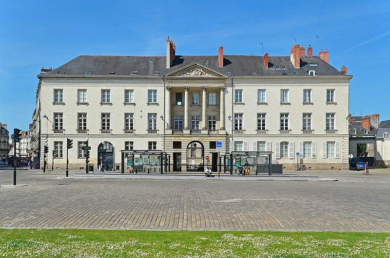 Photo du Monument Historique Hôtel de Montaudoin ou des Colonnes situé à Nantes
