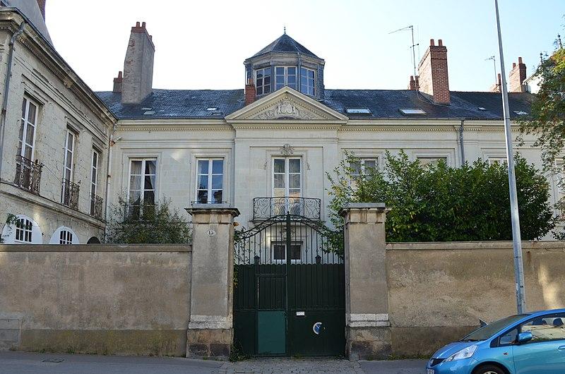 Photo du Monument Historique Hôtel de la Pilorgerie situé à Nantes