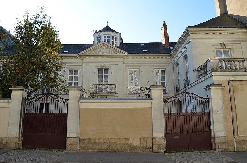 Photo du Monument Historique Hôtel Cazeneuve de Pradines situé à Nantes