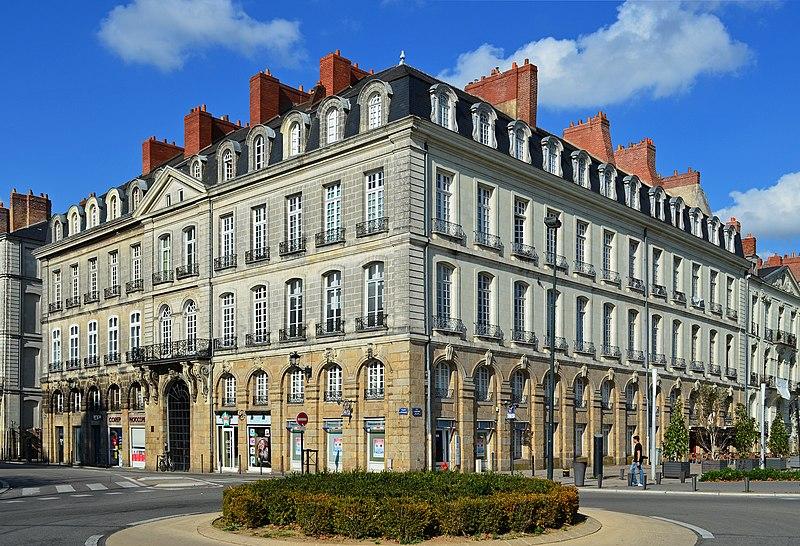Photo du Monument Historique Hôtel Villetreux situé à Nantes