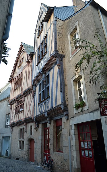 Photo du Monument Historique Immeubles situé à Nantes