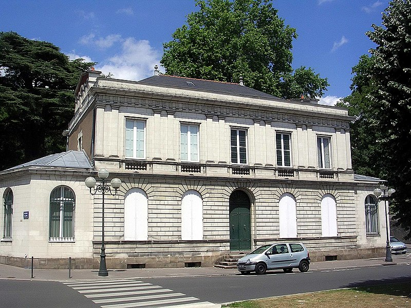 Photo du Monument Historique Immeuble, ancien hôtel particulier Maës situé à Nantes
