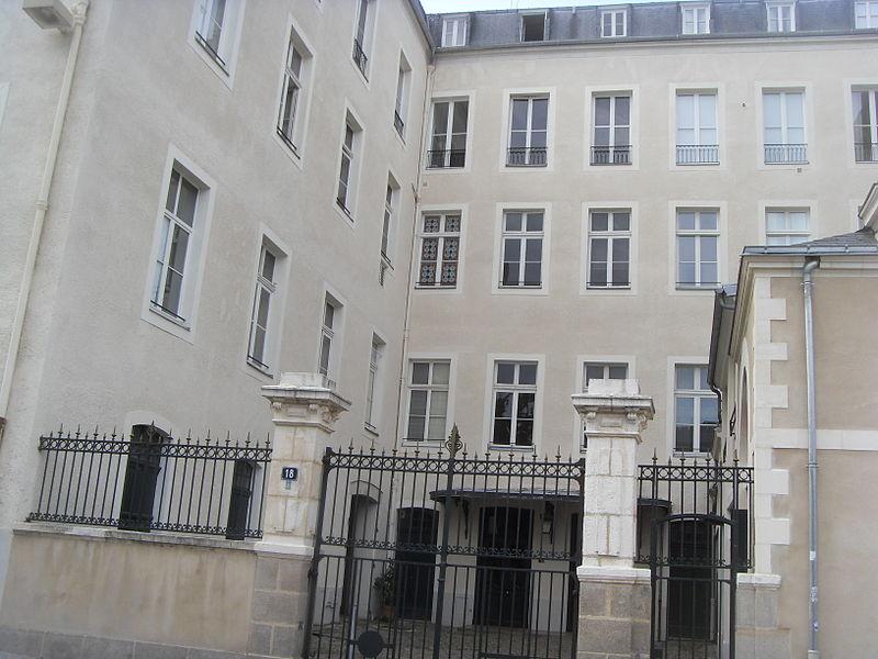 Photo du Monument Historique Immeuble sur Cours Cambronne situé à Nantes