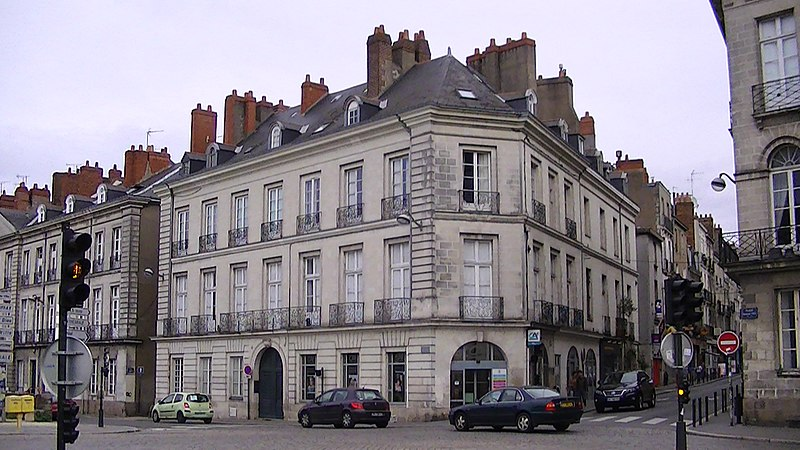 Photo du Monument Historique Immeuble situé à Nantes