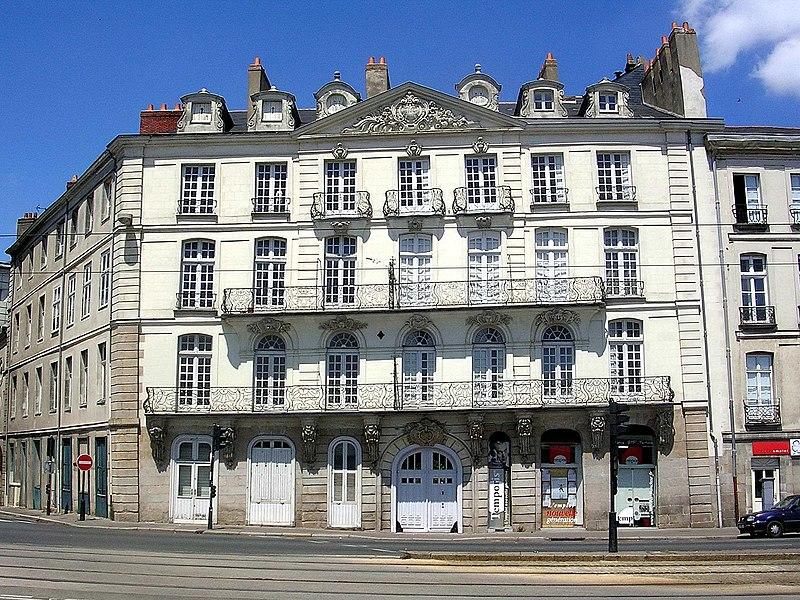 Photo du Monument Historique Maison situé à Nantes