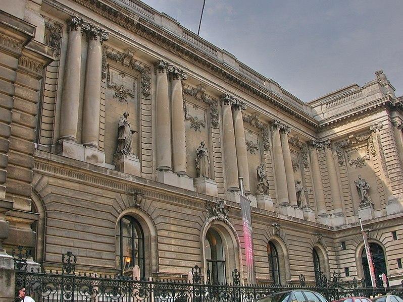 Photo du Monument Historique Musée des Beaux-Arts situé à Nantes
