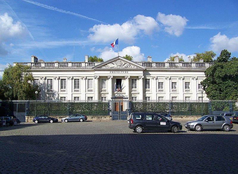 Photo du Monument Historique Préfecture situé à Nantes