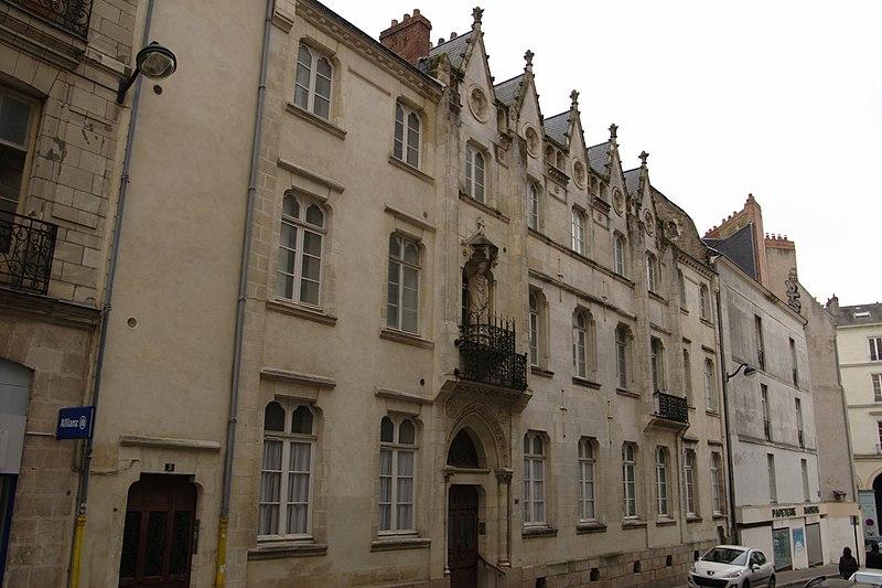 Photo du Monument Historique Presbytère de Saint-Nicolas situé à Nantes