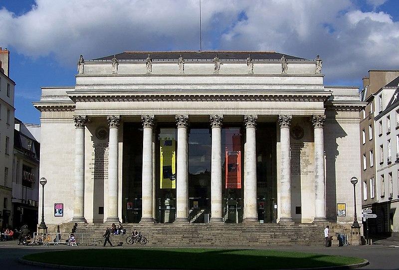 Photo du Monument Historique Théâtre Graslin situé à Nantes