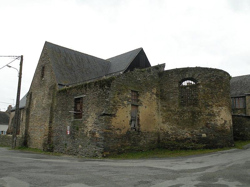 Photo du Monument Historique Eglise Saint-Saturnin-du-Vieux-Bourg situé à Nozay