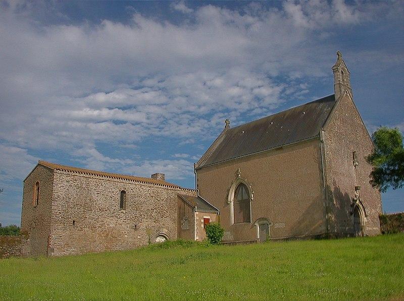 Photo du Monument Historique Chapelle Saint-Lupien situé à Rezé