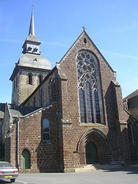 Photo du Monument Historique Ancienne abbaye situé à Saint-Gildas-des-Bois