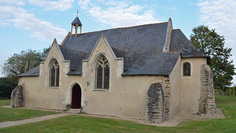 Photo du Monument Historique Chapelle Saint-Barthélémy situé à Saint-Julien-de-Concelles