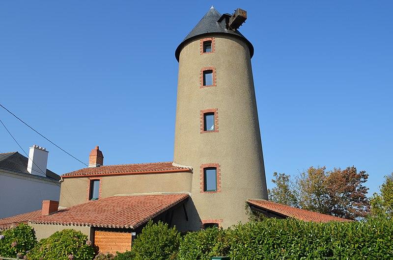Photo du Monument Historique Moulin à vent de Tue-Loup situé à Saint-Julien-de-Concelles