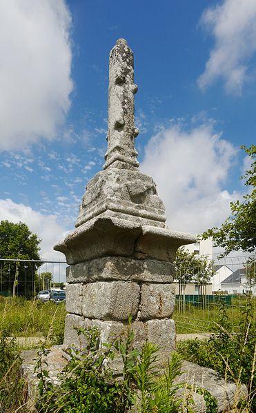 Photo du Monument Historique Calvaire des Rochelles situé à Saint-Nazaire