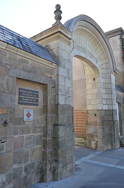 Photo du Monument Historique Abbaye situé à Vertou