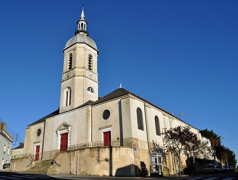 Photo du Monument Historique Eglise Saint-Martin-de-Chantenay situé à Nantes