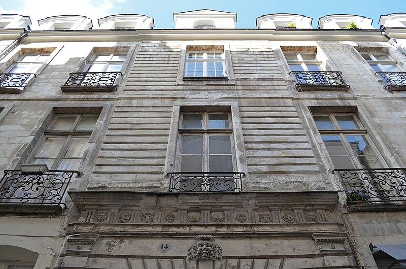 Photo du Monument Historique Hôtel Harrouys situé à Nantes