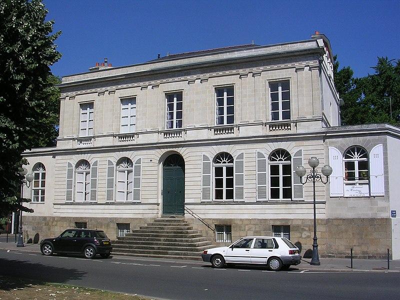 Photo du Monument Historique Immeubles, ancien hôtel Allard situé à Nantes