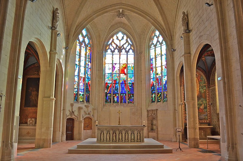 Photo du Monument Historique Eglise des Minimes situé à Nantes