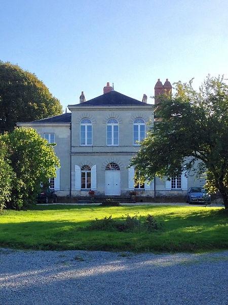Photo du Monument Historique Villa de Beaulieu situé à Mauves-sur-Loire