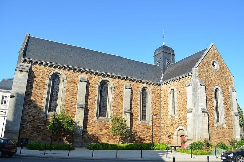 Photo du Monument Historique Eglise Saint-Jacques de Pirmil situé à Nantes
