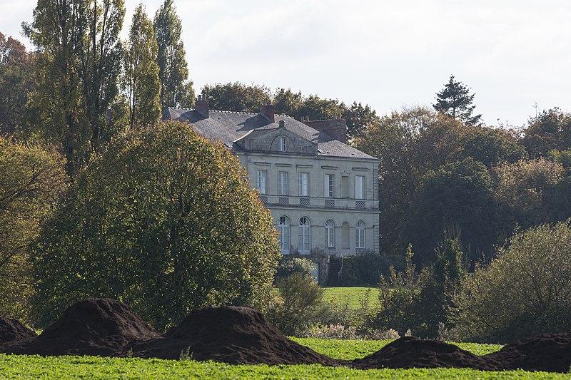 Photo du Monument Historique Villa du Plessis-Grimaud situé à Saint-Viaud