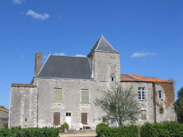 Photo du Monument Historique Château de la Vrillière situé à La Chapelle-Basse-Mer