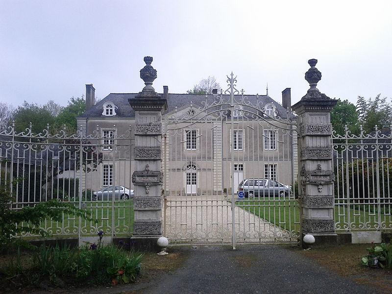 Photo du Monument Historique Château de la Morlière situé à Orvault