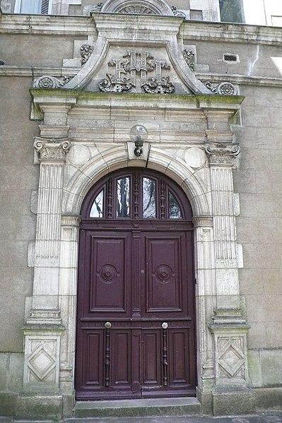 Photo du Monument Historique Hôtel Leglas-Maurice situé à Nantes