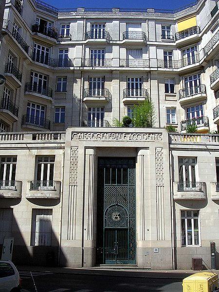 Photo du Monument Historique Immeuble de la Compagnie générale d'Accident (CGA) situé à Nantes