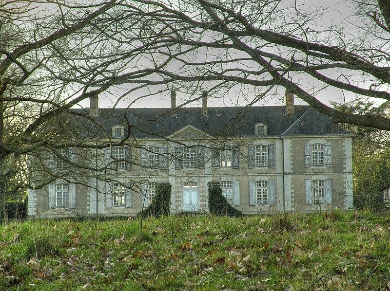 Photo du Monument Historique Maison noble de Rochefort situé à La Haie-Fouassière