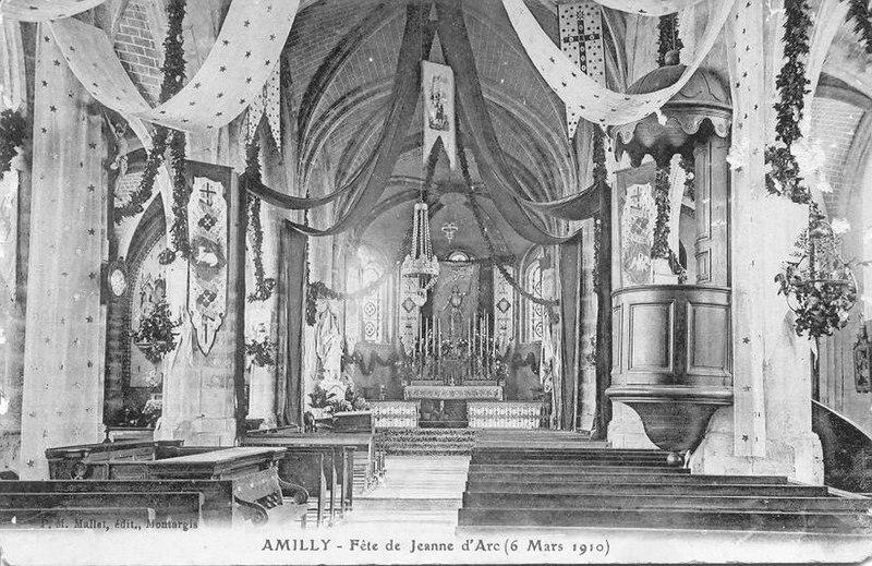 Photo du Monument Historique Eglise Saint-Martin situé à Amilly