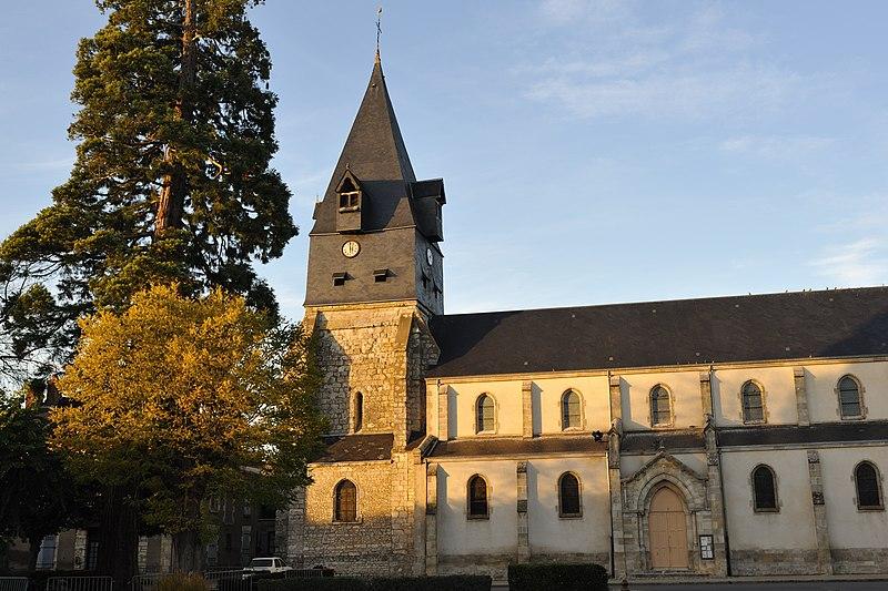 Photo du Monument Historique Eglise Notre-Dame situé à Aschères-le-Marché