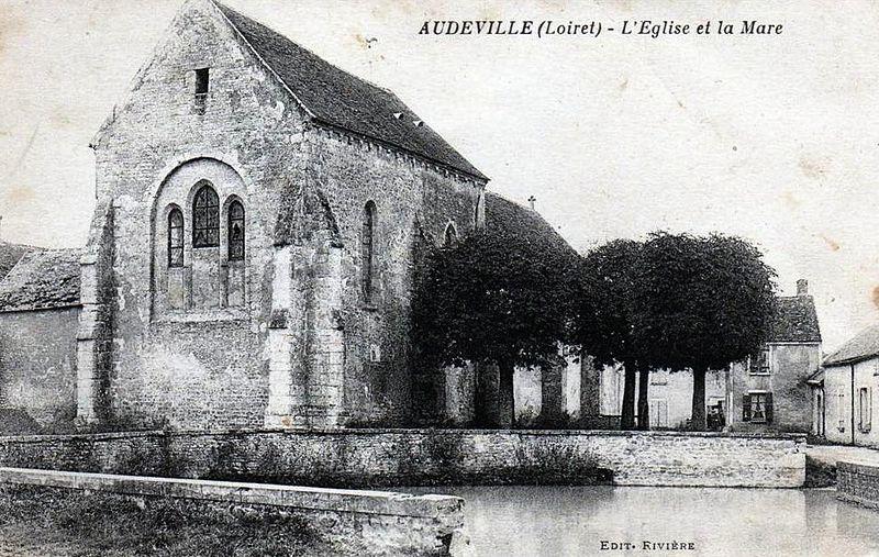 Photo du Monument Historique Eglise Saint-Sulpice situé à Audeville