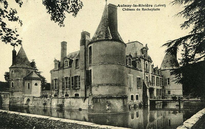Photo du Monument Historique Château de Rocheplatte situé à Aulnay-la-Rivière