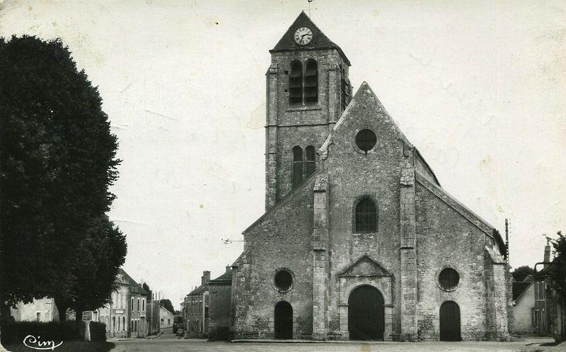 Photo du Monument Historique Eglise Saint-Martin situé à Auxy