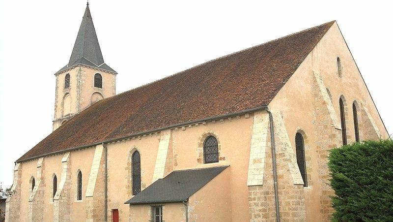 Photo du Monument Historique Eglise Saint-Martin situé à Batilly-en-Gâtinais