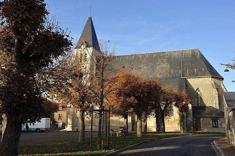 Photo du Monument Historique Eglise Notre-Dame situé à Bazoches-les-Gallerandes