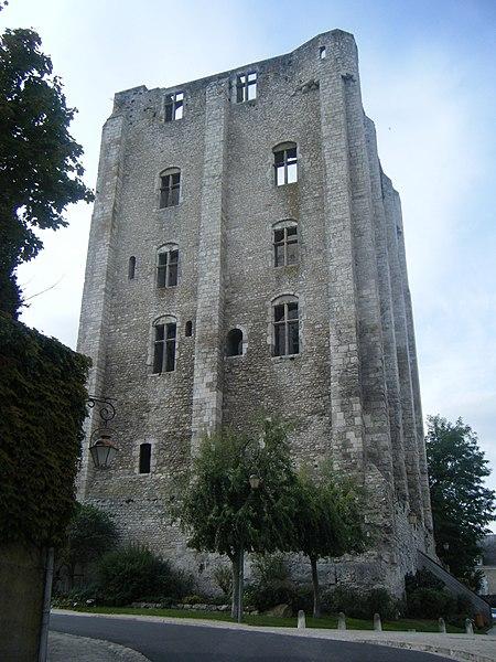 Photo du Monument Historique Donjon quadrangulaire, dit Tour de César situé à Beaugency