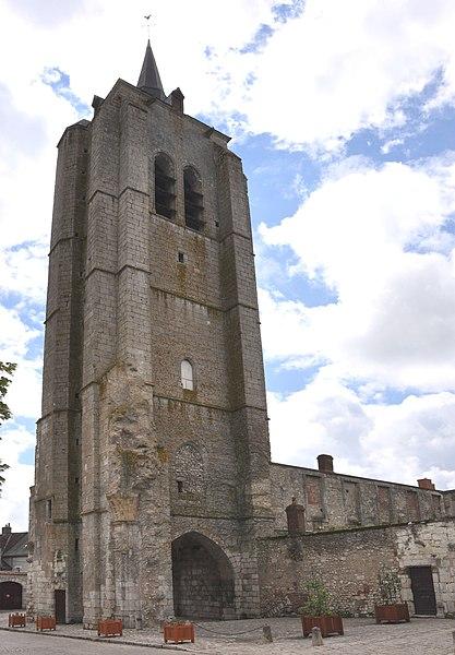 Photo du Monument Historique Tour Saint-Firmin situé à Beaugency
