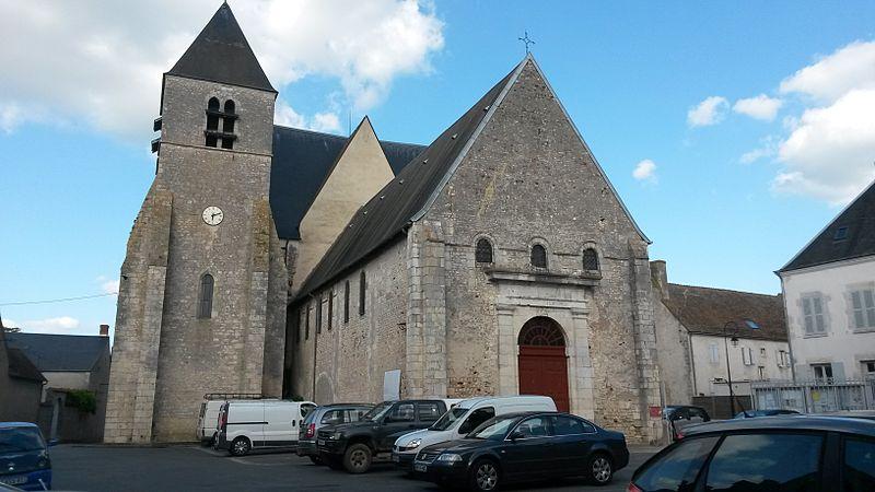 Photo du Monument Historique Eglise Saint-Etienne situé à Beaulieu-sur-Loire