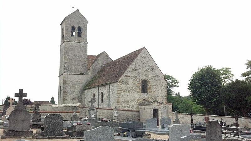 Photo du Monument Historique Eglise Saint-Martin-le-Seul situé à Bondaroy