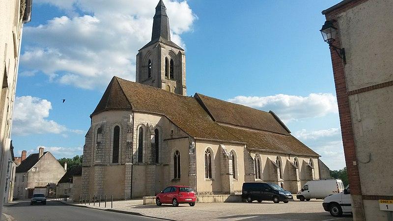 Photo du Monument Historique Eglise Saint-Aignan situé à Bonny-sur-Loire